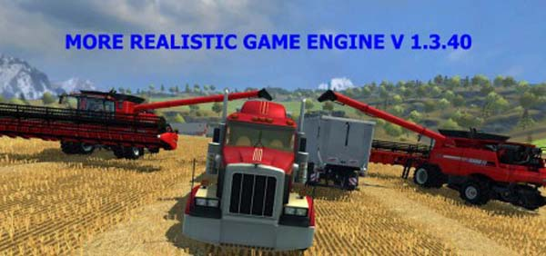More Realistic Game Engine