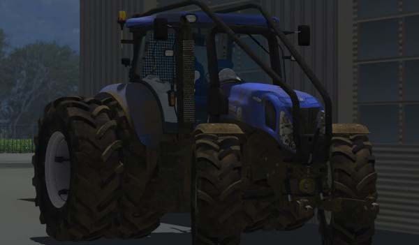 New Holland T7.210 Dirty Forest