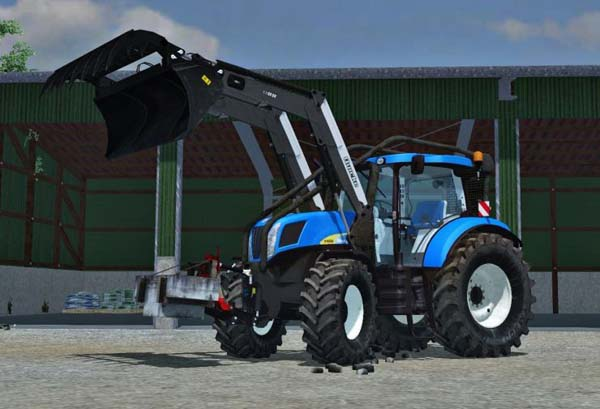 New Holland T7050 Forest Mod