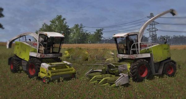 Claas Jaguar 870 Pack