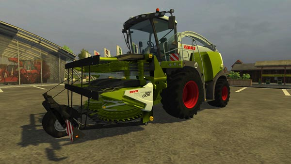 Claas Orbis Transport Protection