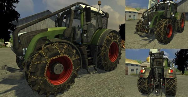 Fendt 936 (MoreRealistic) Forst Version