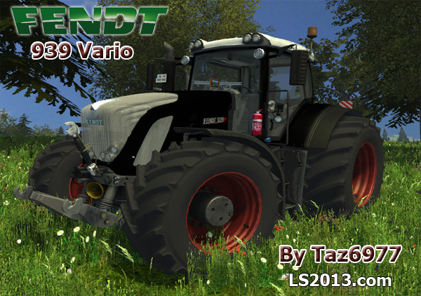 Fendt 939 Vario Black Edition MR