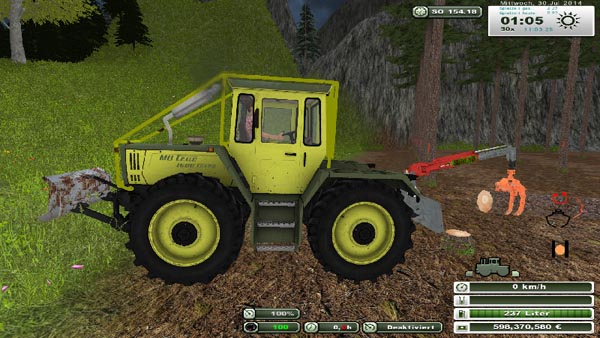 Forestry auxiliary devices