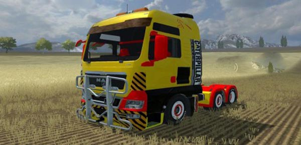 MAN TGX Caterpillar Edition