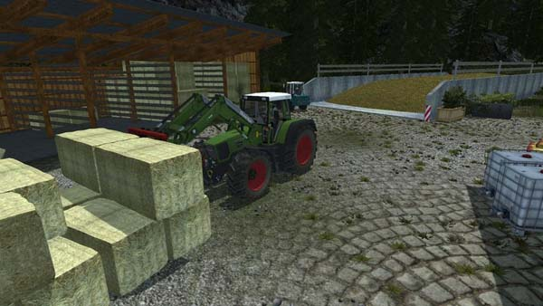 Easy Bale Handling Automatic fork