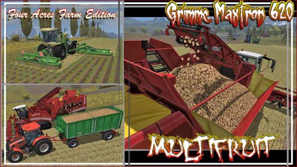 Grimme Maxtron 620 Multifruit Pack