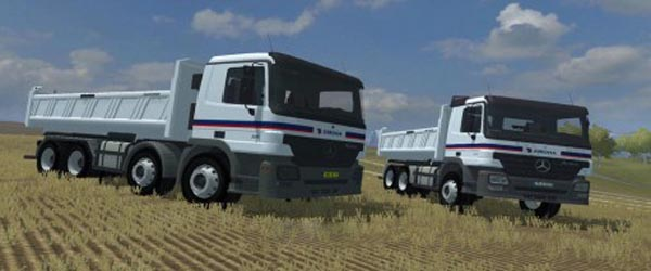 MB Actros Eurovia Edition Pack