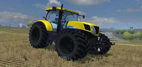 New Holland T7030 Yellow