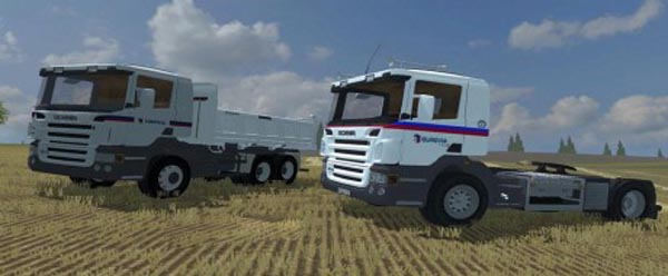 Scania Eurovia Edition Pack