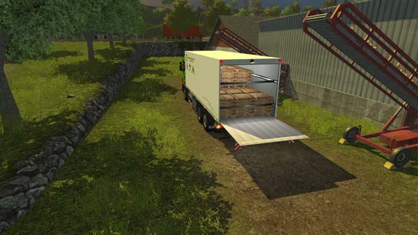 Scania P420 with cooling structure v