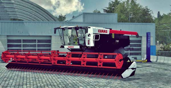 Claas Lexion 780 Black Edition