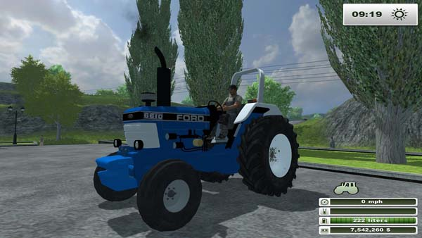FORD 6610 ROPS