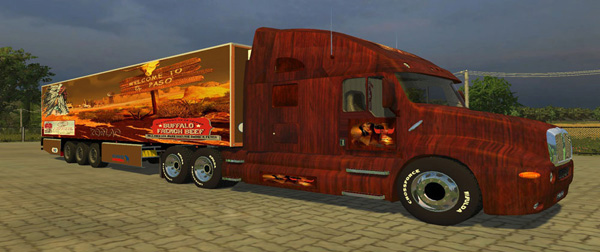 Kenworth Bufallo French Beef Edition + Trailer