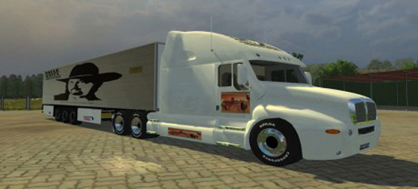 Kenworth Oncle Scott Edition + Trailer