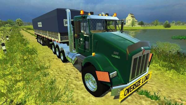 Kenworth T800 More Realistic