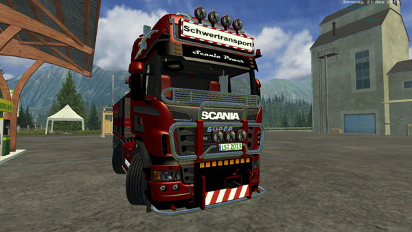 Scania heavy duty and heavy duty