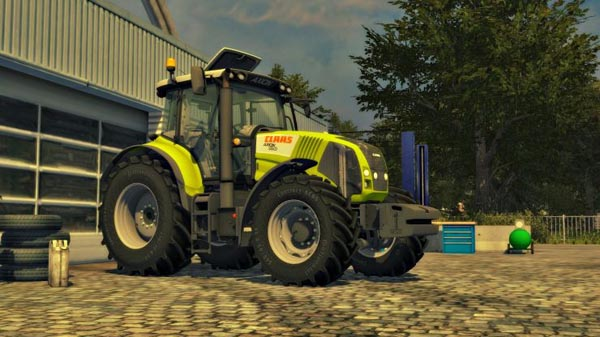 CLAAS AXION 830 FW