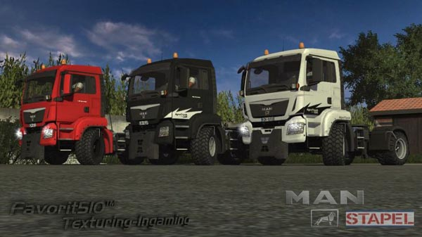 MAN-Stapel Agro Truck