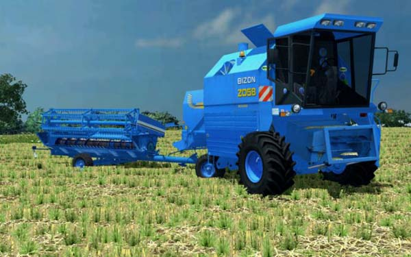 Bizon Rekord Z 058 New Holland
