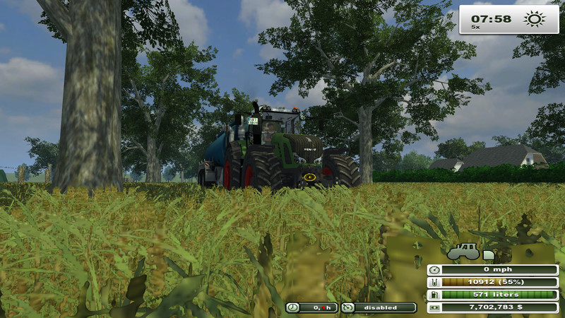 North Brabant with lime V 2.5 SoilMod ChoppedStraw