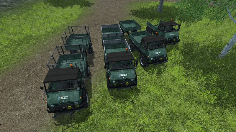 U 84 Series 406 Top Trailers V 1.1 Forst
