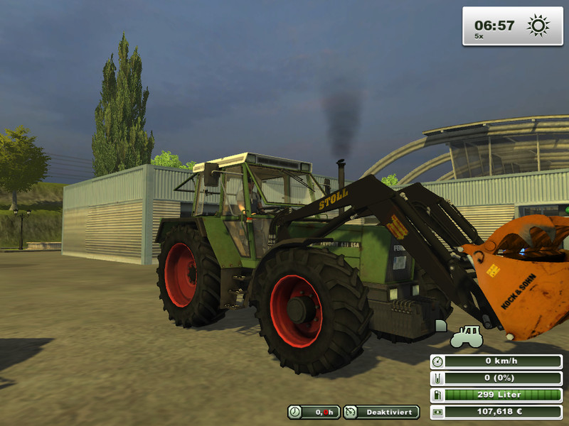 Stoll front loaders texture