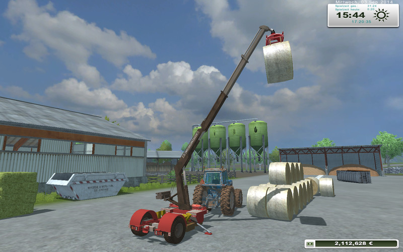 TAKRAF crane trailer homemade V 1.0