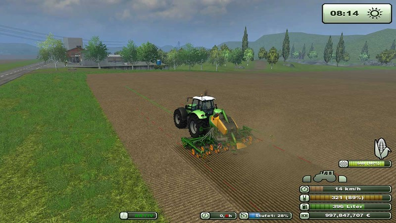 Fertilization for seed drills V 4.0 SoilMod Edition