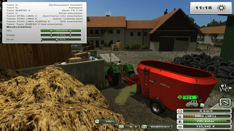 Dunghill with bales of crop adoption V 1.1