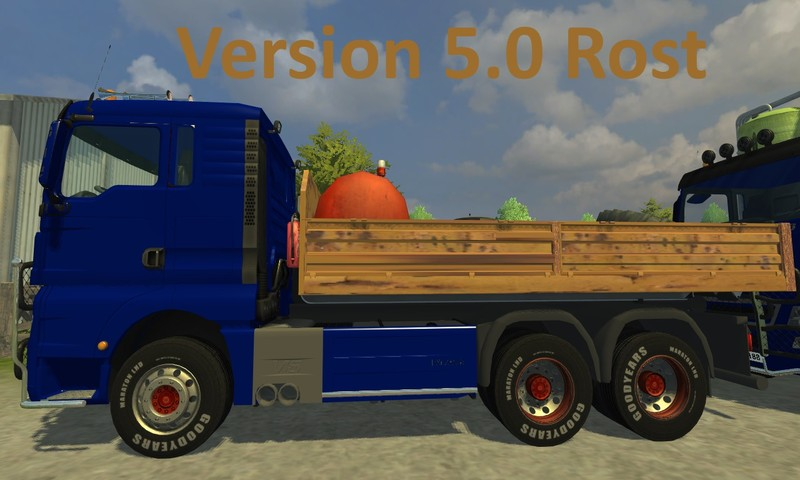 MAN TGX HKL with container V 5.0 Rost